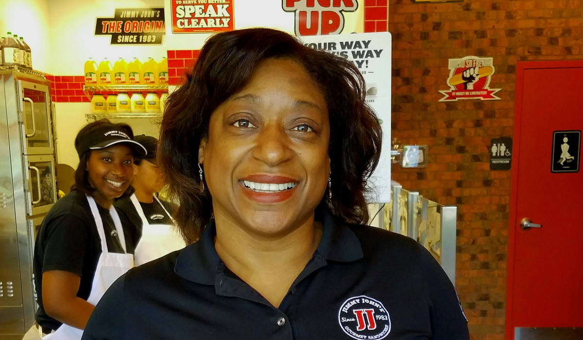 Felicia Parks: Jimmy John's Franchise Owner And Army Veteran Inspires Youth 1