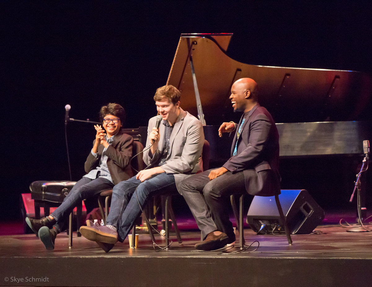 Three Hundred Middle School Students + One 13-year-old Grammy Nominee = MAGIC! 3