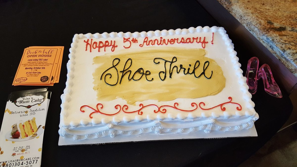 Shoe Thrill Fifth Anniversary Party Chandler Lifestyle