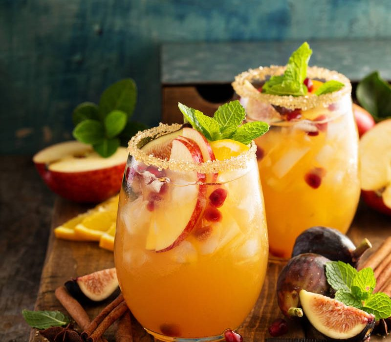 Apple Cider Autumn Sangria