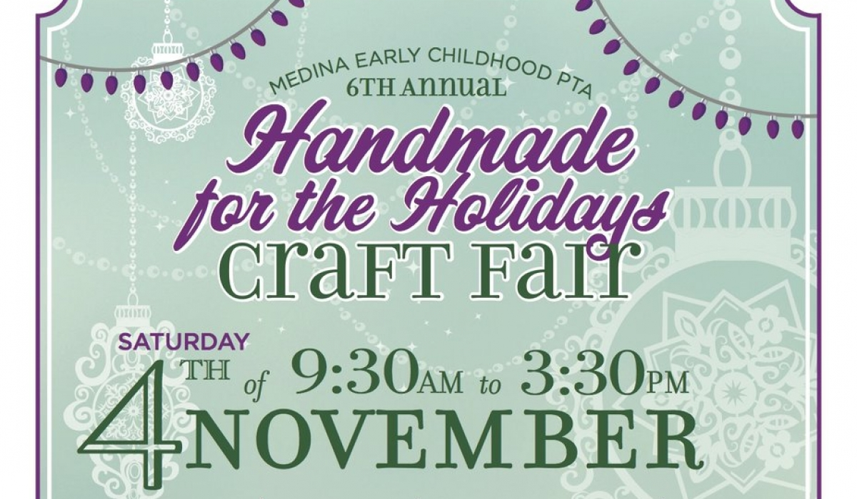 6th Annual MECPTA Handmade for the Holidays Craft Fair