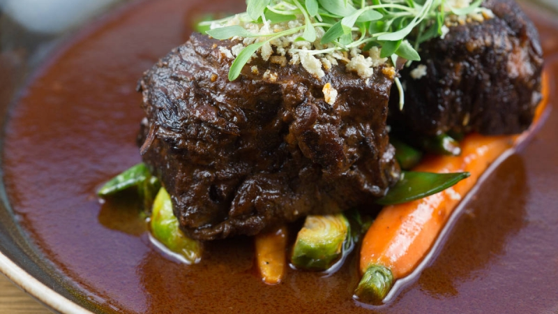 Nutella Braised Shortribs