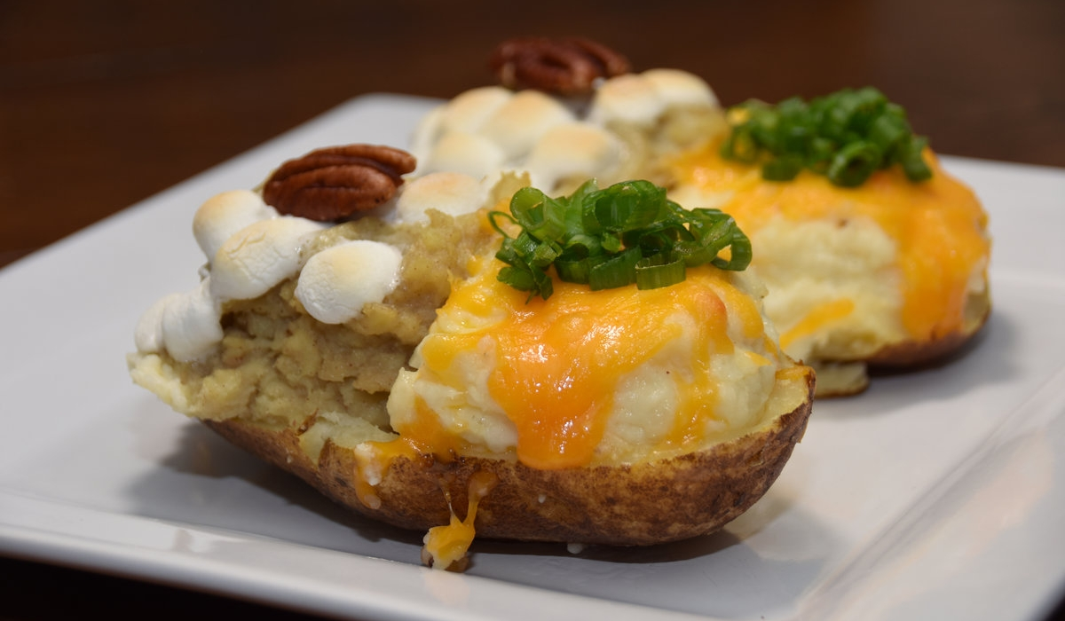 Twofer Twice-Baked Potatoes