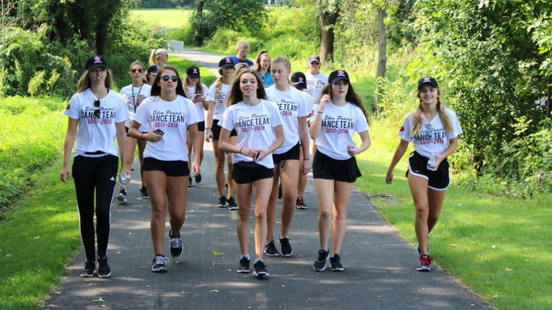Western Wings Special Olympics Walk-a-thon 1