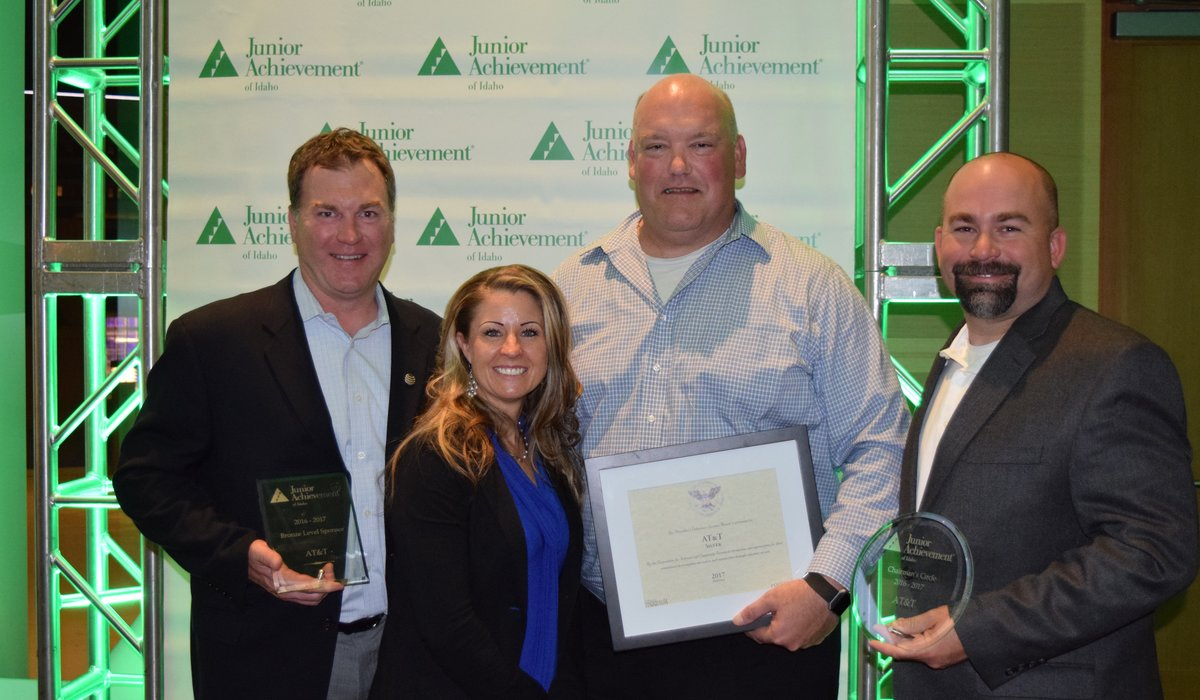 The Junior Achievement's Spirit of Achievement Awards 5