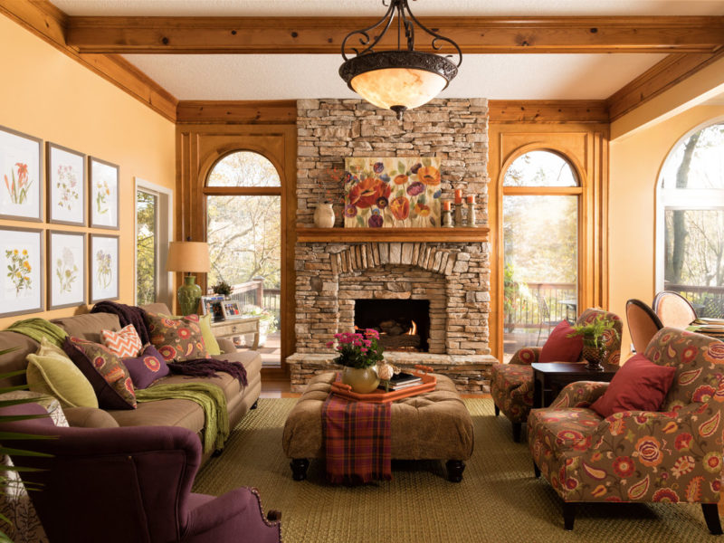 Fun and Functional Decorating Brightens Lake Home 14