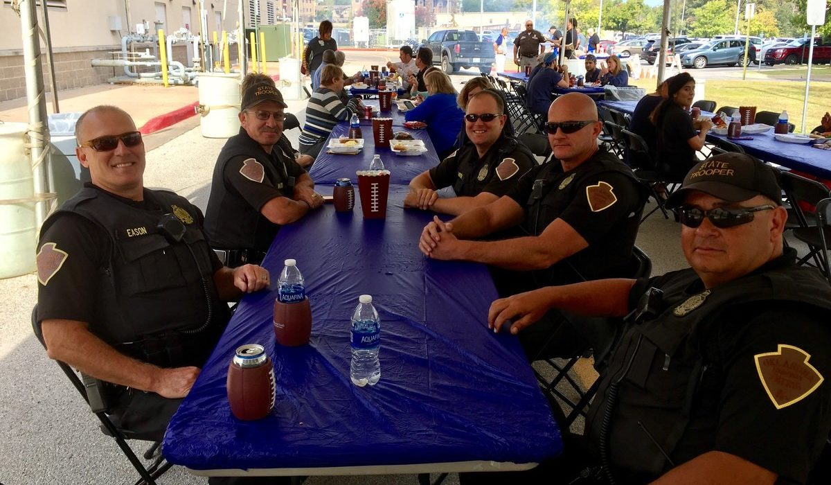 Hillcrest South First Responders Appreciation Lunch 2