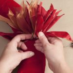 How to Make a Ribbon Wreath 4