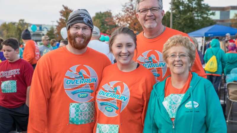 The OVERRUN Ovarian Cancer 5K Run/Walk & 1-Mile Teal Trail Walk 2