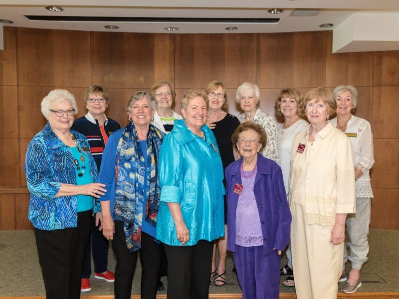 The Leawood Woman's Club celebrated 58 years 6