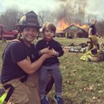 Local Firefighter Tom LoSchiavo and 4-year-old Son, Sal, Share Their Favorite Haunts 2