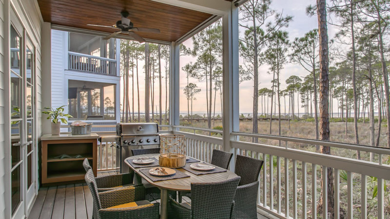 A Beach House with Southern Charm