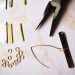 DIY Duotone Statement Earrings 3