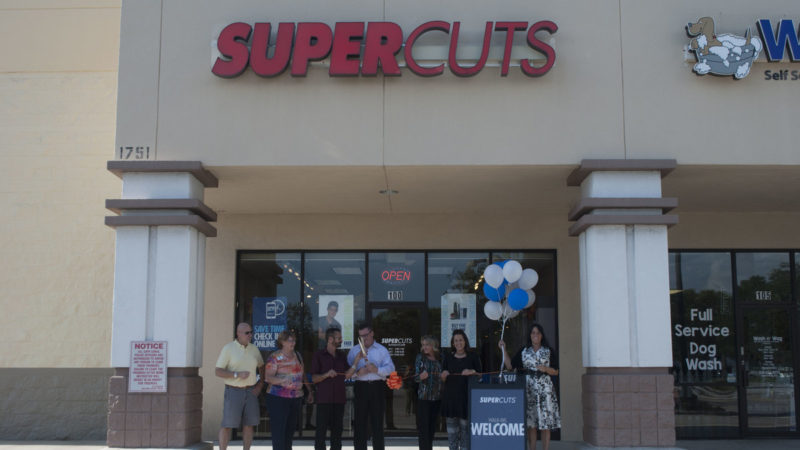 Supercuts Ribbon-Cutting 2