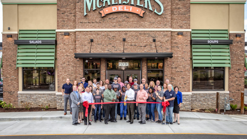 McAlister's Deli Ribbon Cutting 2