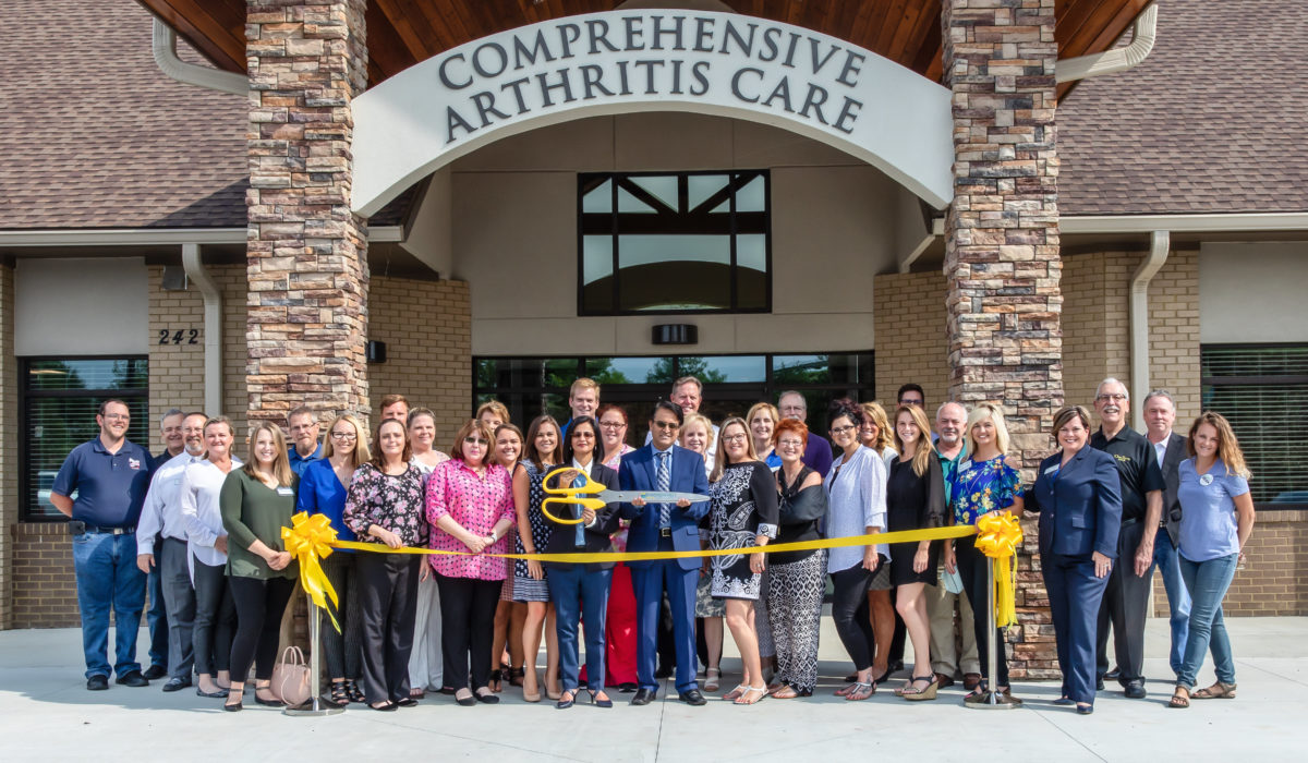 Comprehensive Arthritis Care Ribbon Cutting 1