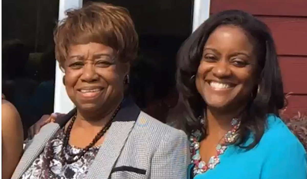Cheryl Johnson + her mom 1