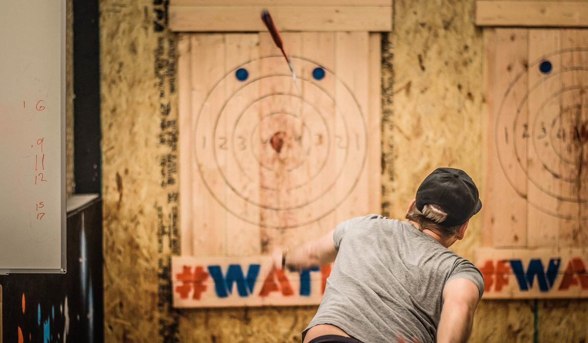 Male Hot Spots: Eat. Drink. Throw Axes. 10