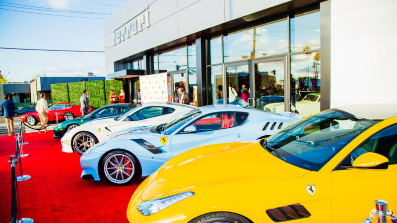 FERRARI & MASERATI OF SAN DIEGO NEW SHOWROOM GRAND OPENING 7