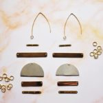 DIY Duotone Statement Earrings 8