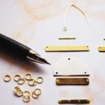 DIY Duotone Statement Earrings 7