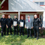 Gaithersburg Chamber of Commerce Police Officer Awards 1