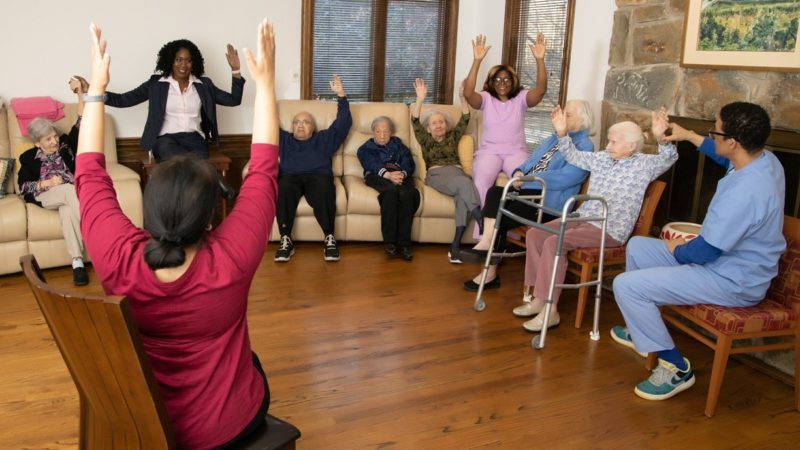 Keeping the Care in Caregiving at Serenity Gardens 1