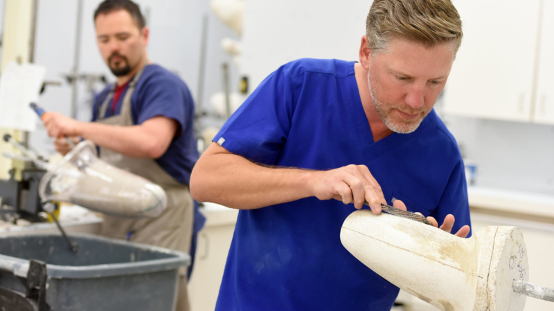 Passion for Wounded Vets Drives Sabolich Prosthetics 11