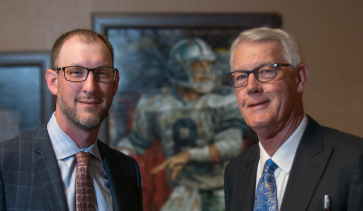 Chad Elsey + His Dad, Chuck 1