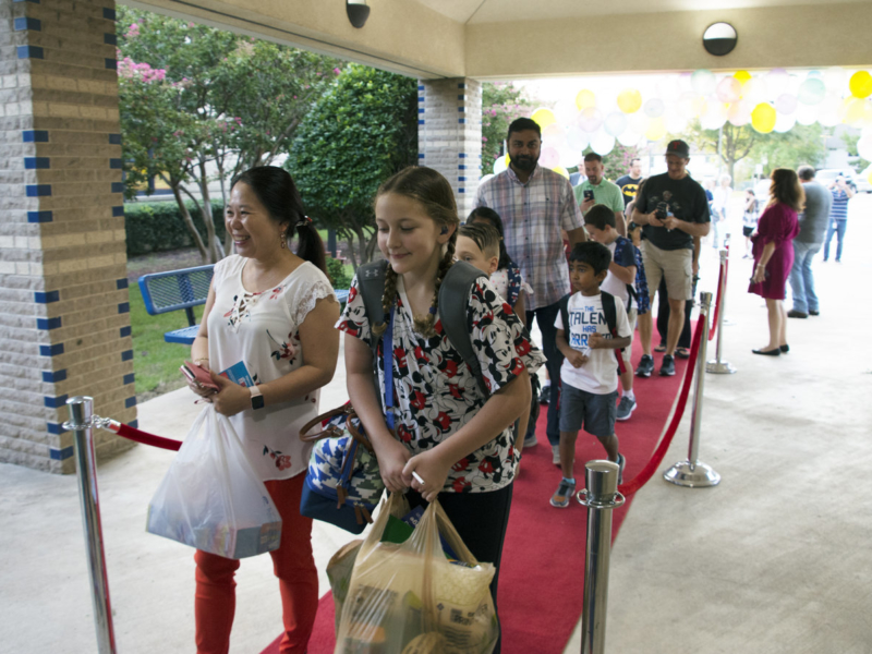 STEM Academy at Donald Elementary Officially Opens with Red Carpet 2