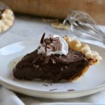 The Perfect Chocolate Pie 7