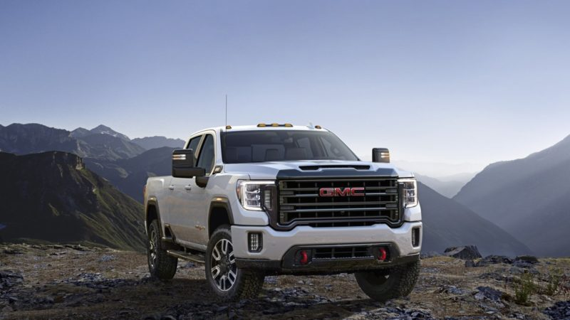 The 2020 GMC Sierra Heavy Duty AT4 4