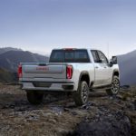The 2020 GMC Sierra Heavy Duty AT4 3