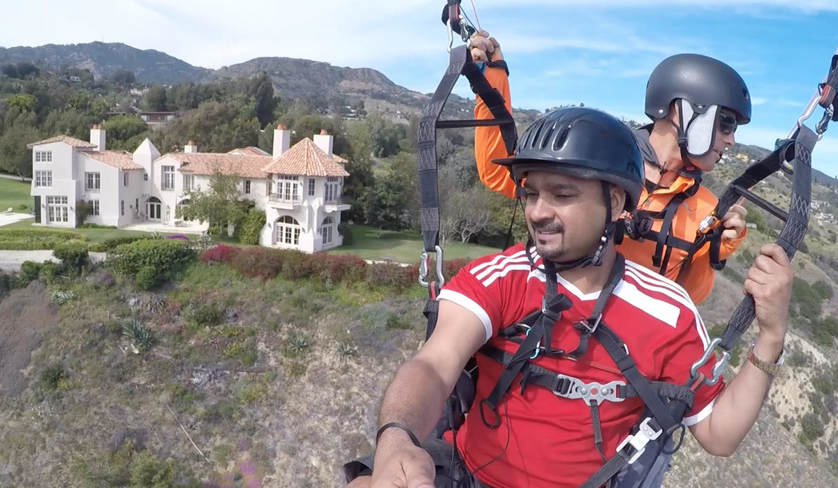 Malibu Soaring: Paragliding the Local Skies