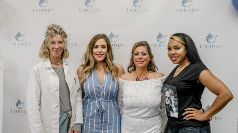 Grand Opening of Embody SKIN Care 1