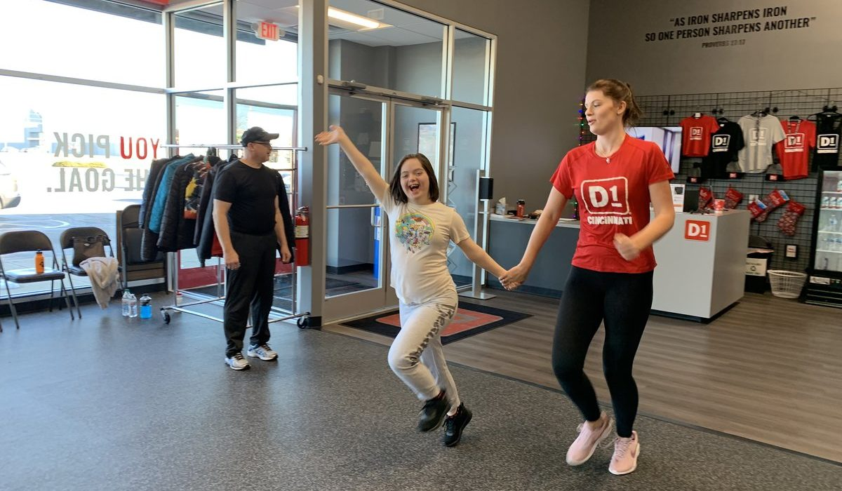 Special Olympics Workout at D1 Training