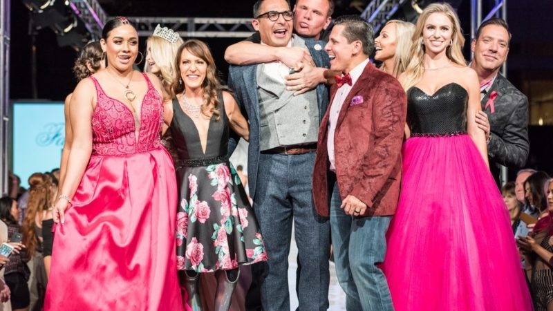 Fashionably Pink Survivor & Celebrity Runway Show powered by Tal Barkel at Talking Stick Resort 5