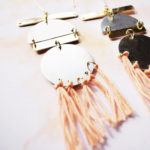 DIY Duotone Statement Earrings 1