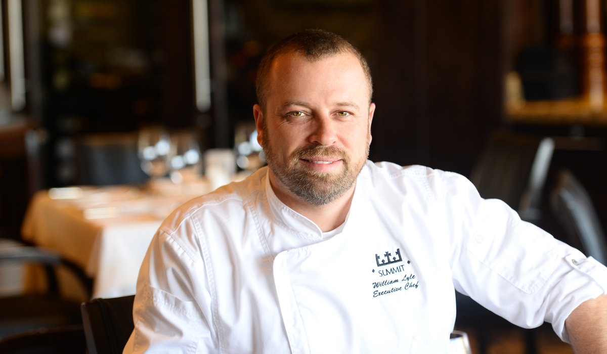 Summit Club's Executive Chef William Lyle
