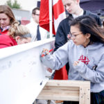Holland Hall School hosted Beam Signing Event  on March 29 5