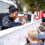 Holland Hall School hosted Beam Signing Event  on March 29 2