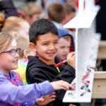 Holland Hall School hosted Beam Signing Event  on March 29 1
