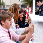 Holland Hall School hosted Beam Signing Event  on March 29