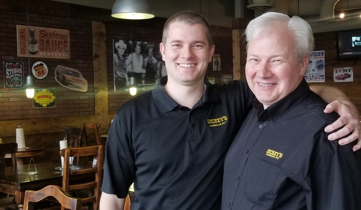 Keith and Skyler Jones, Father-and-Son Owners of Dickey's Barbecue