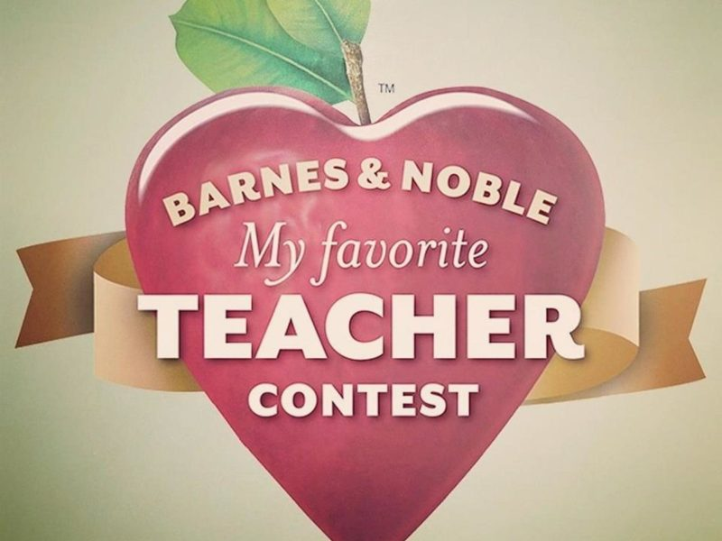 B&N's My Favorite Teacher Contest Winner 5