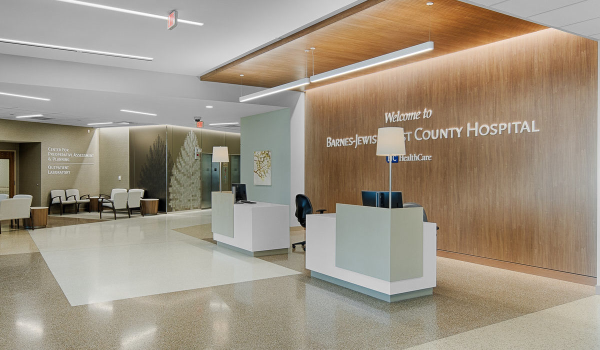 New Barnes-Jewish West County Hospital Launches 5