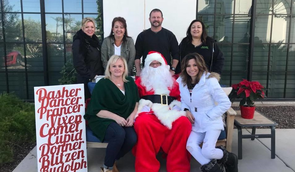 Second Annual Pictures with Santa 3