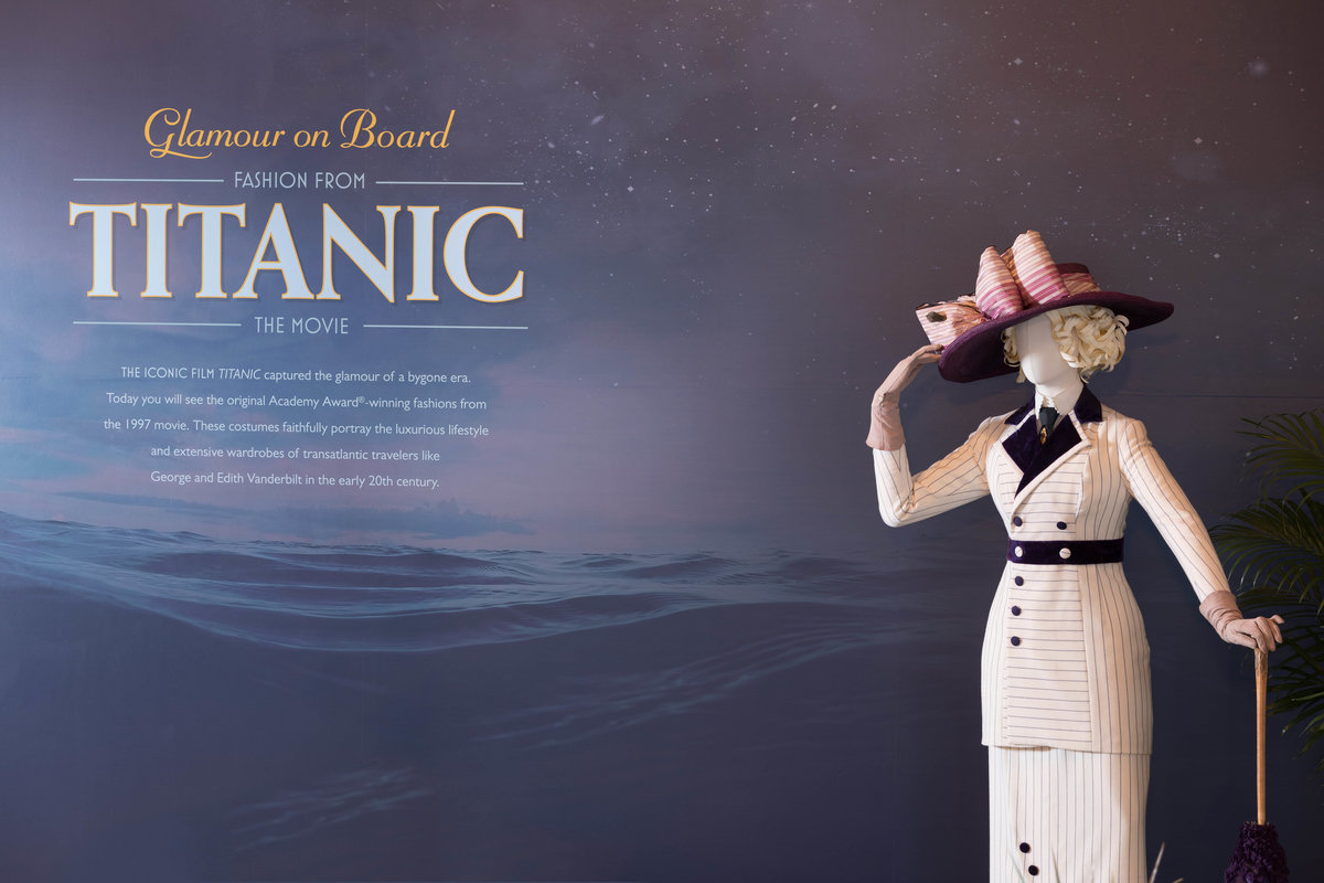 Glamour on Board: The Titanic Fashion Comes to Biltmore 8