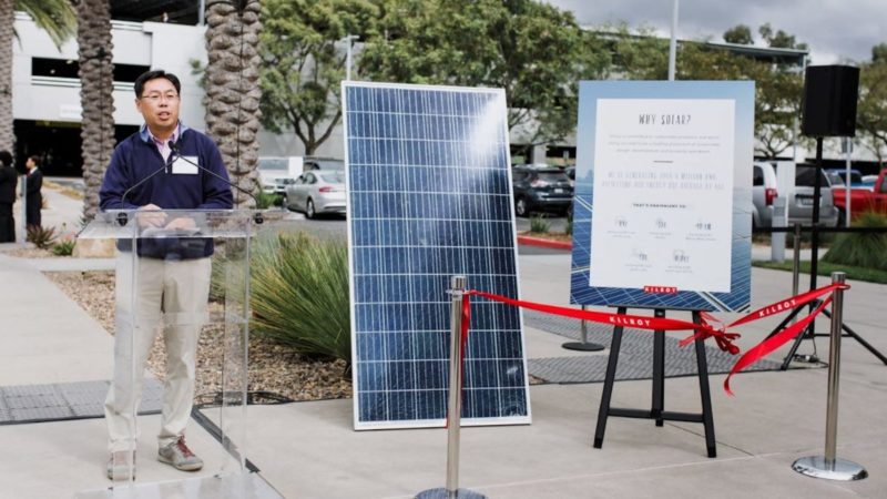 Kilroy Realty Hosts Solar Project Ribbon Cutting 5