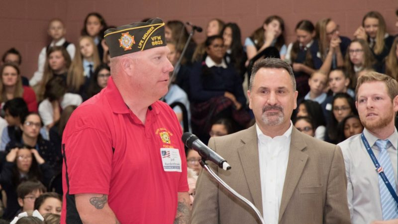 VETERAN'S DAY ASSEMBLY at American Preparatory Academy 5